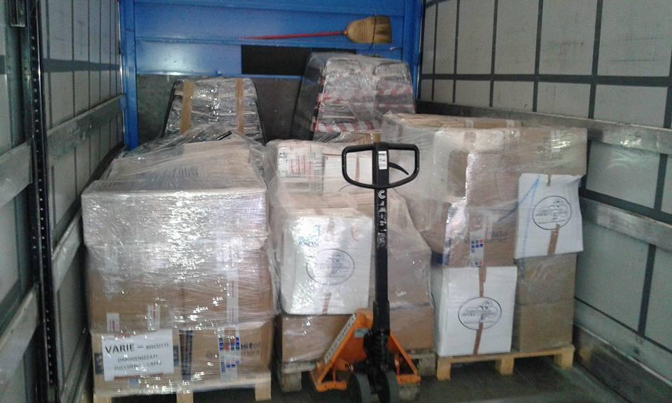 Materiale umanitario: spedito!