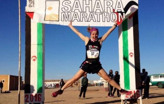 Erika Buoso da Anguillara è la regina del Sahara Marathon 2016