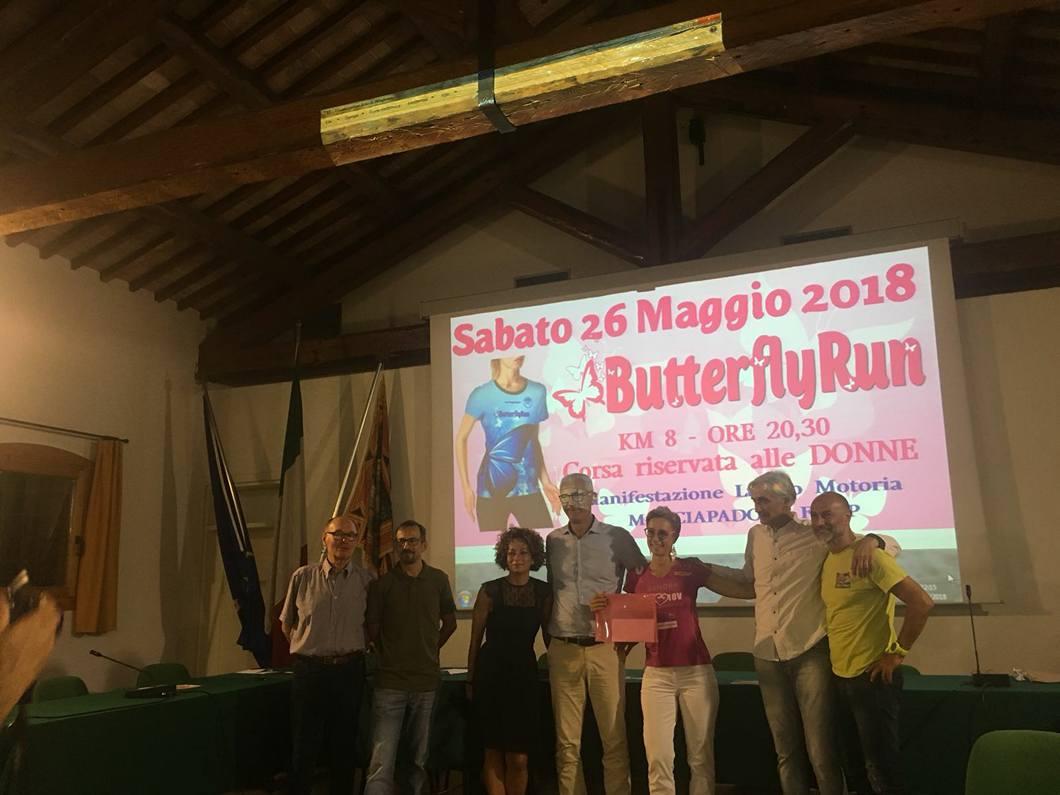 Corsa e beneficenza: Butterfly Run per 1514